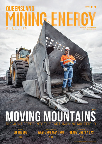 QLD MINING & ENERGY AUTUMN 2014 FRONT COVER