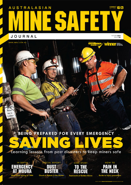 AUSTRALASIAN MINE SAFETY FRONT COVER