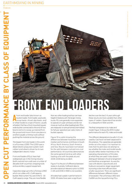 QMEB FRONT END LOADERS